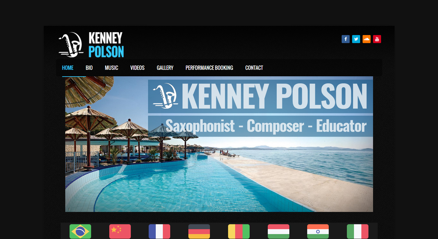 Kenney Polson Web Page - Alkaye Media Group