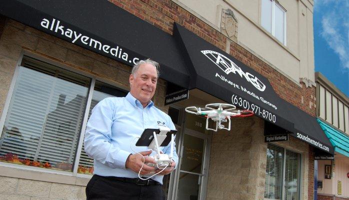 alkaye media FAA drone pilot